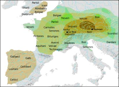 common celtic and gaulish prepositions I gaulish—celtic place-names are found as far east as the dniester and dobrudja, and as far north as westphalia the language of the galatians in asia minor must have stood in a very close relation to gaulish.